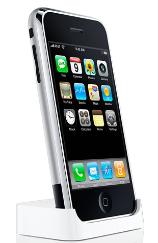 Apple iPhone 1 in Dock