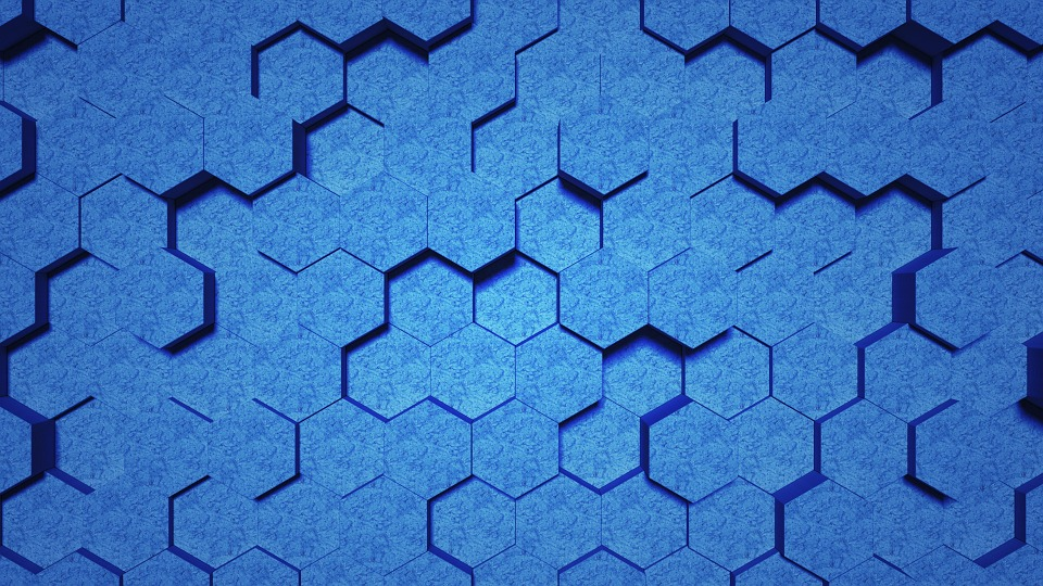Blue honeycomb lattice