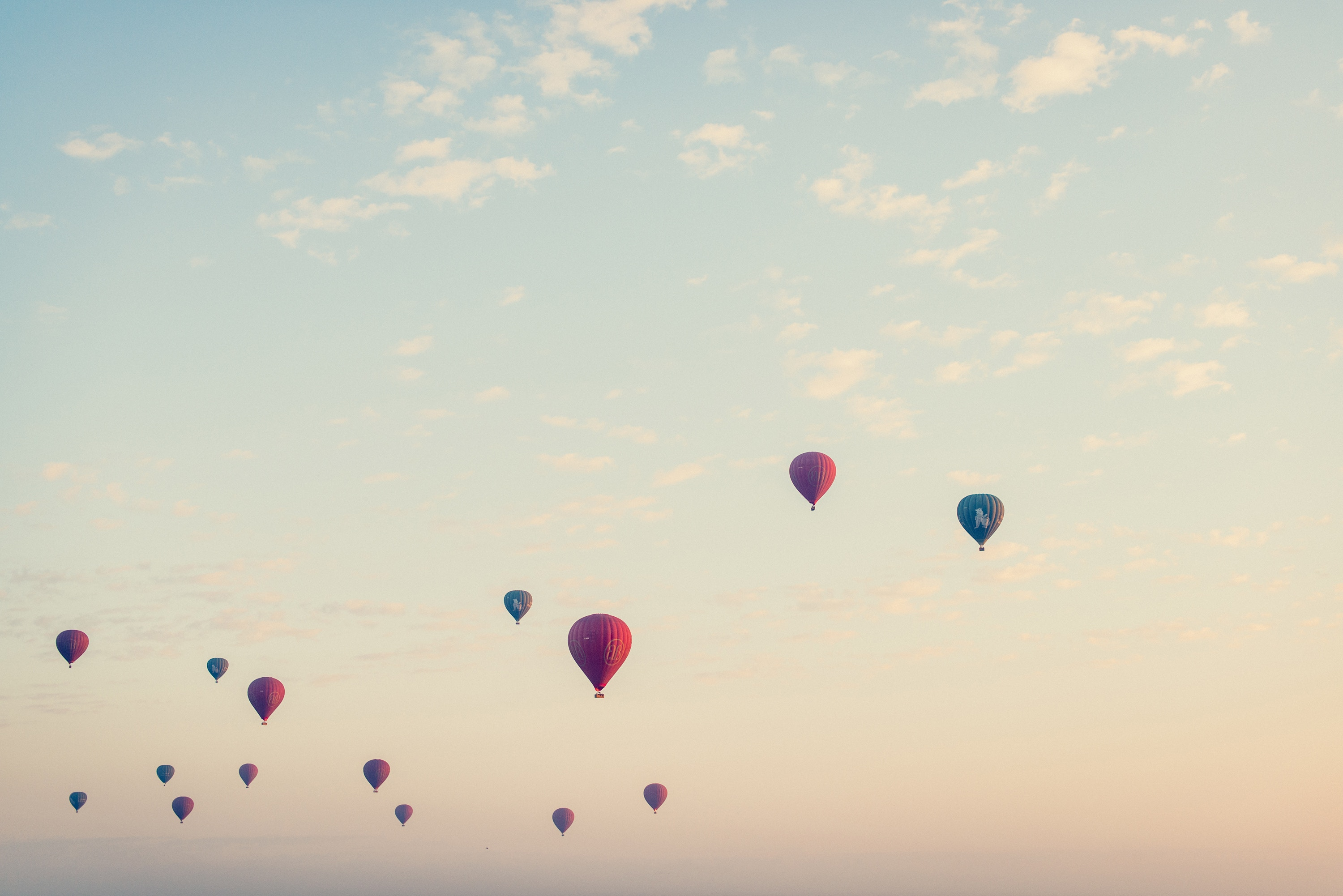 Hot Air Baloons in the Sky